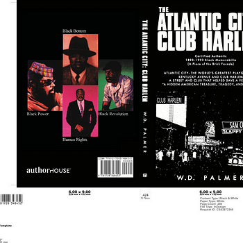 The Atlantic City: Club Harlem front and back covers