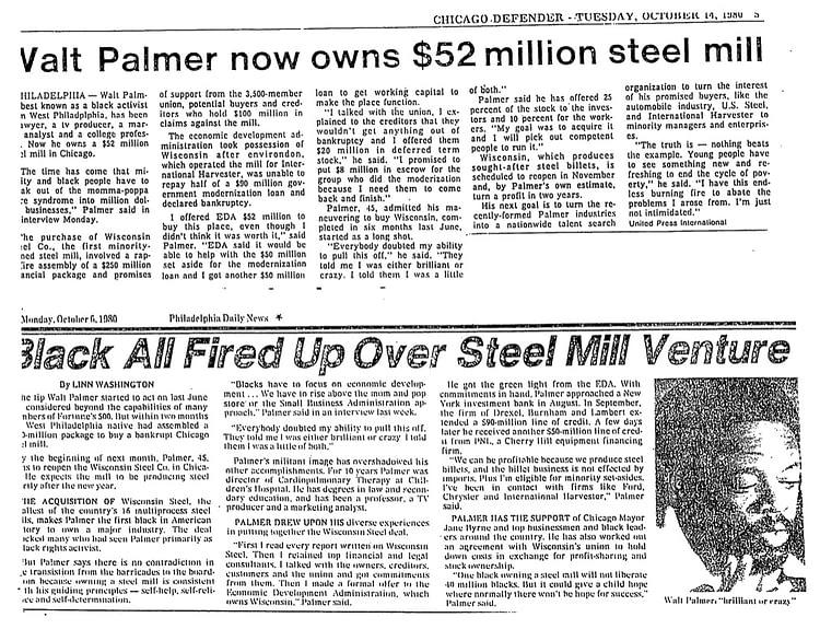 Steel Mill Article