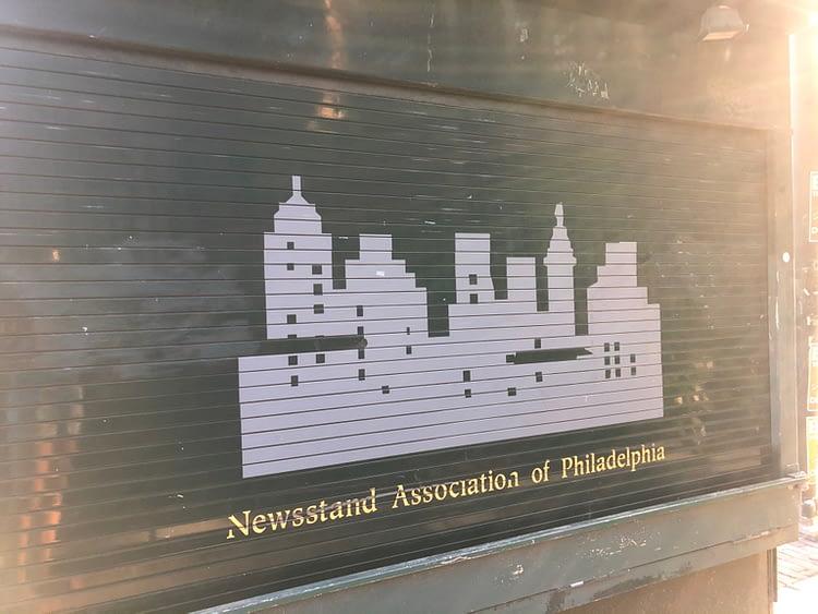 News Stand Association of Philadelphia Shutter