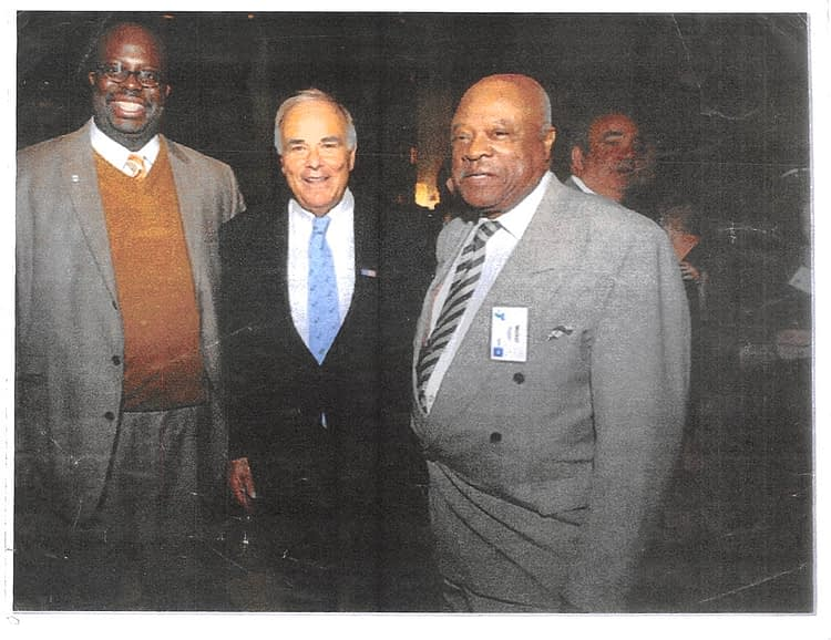 Walt Palmer with Chad Lassiter and Governor Ed Rendell